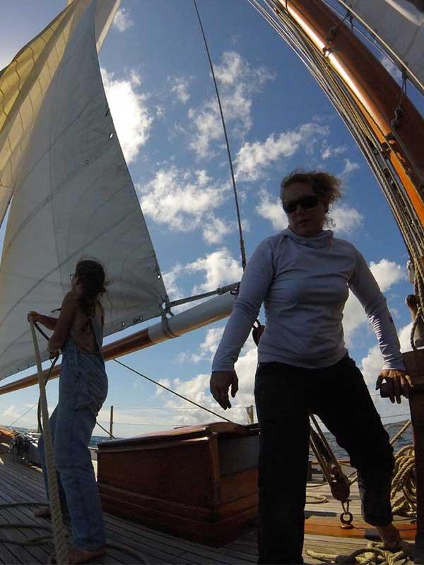 Manoeuvres à bord du bateau - Skeaf
