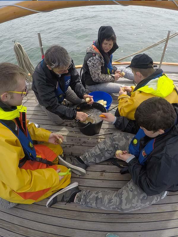Cuisiner à bord - association - Skeaf